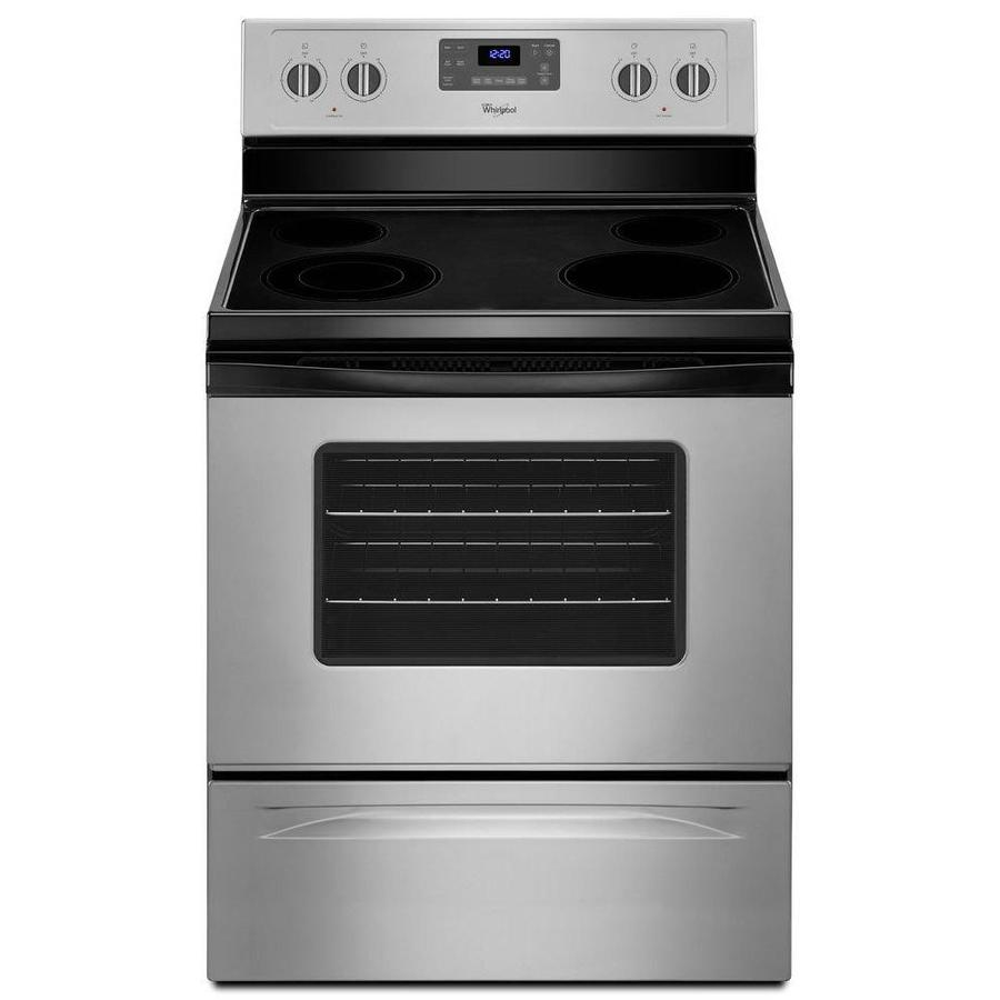 Whirlpool Smooth Surface Freestanding 53cu ft Self
