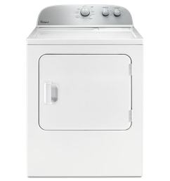 shop whirlpool 5 9 cu ft electric dryer white at lowes com whirlpool dryer power cord installation 4 prong dryer plug installation [ 900 x 900 Pixel ]