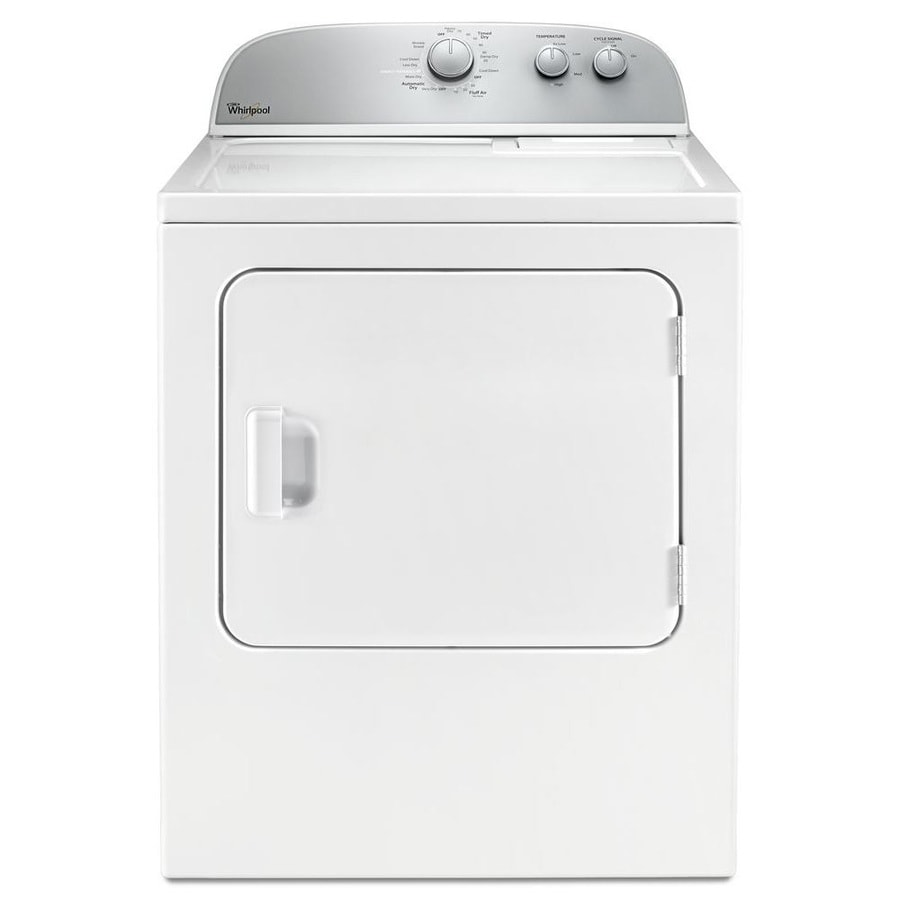 hight resolution of shop whirlpool 5 9 cu ft electric dryer white at lowes com whirlpool dryer power cord installation 4 prong dryer plug installation