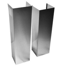 whirlpool wall hood chimney extension kit [ 900 x 900 Pixel ]