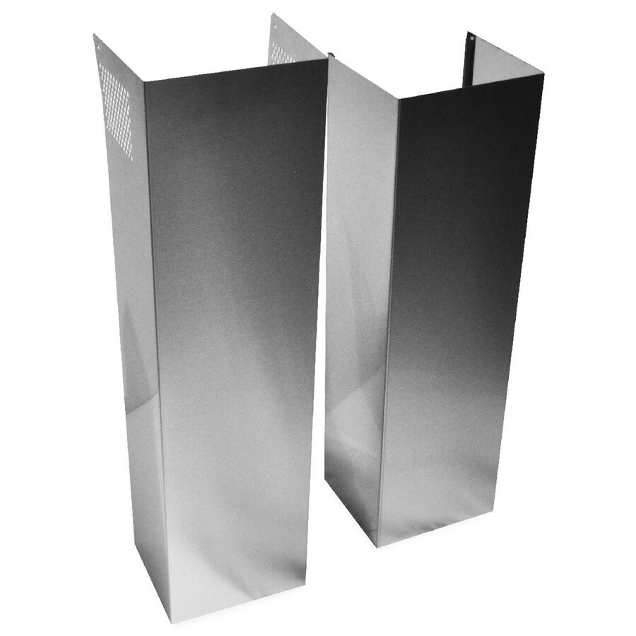 medium resolution of whirlpool wall hood chimney extension kit
