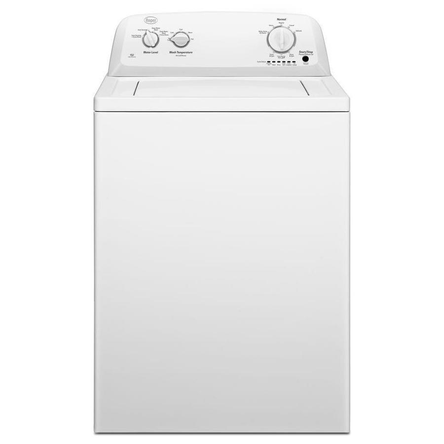 medium resolution of roper 3 5 cu ft high efficiency top load washer white