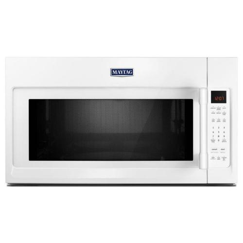 small resolution of maytag 2 cu ft over the range microwave with sensor cooking white common 30 in actual 29 875 in