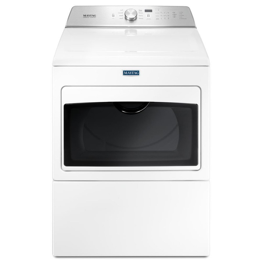 hight resolution of maytag 7 4 cu ft gas dryer white