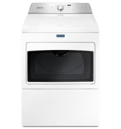 maytag 7 4 cu ft electric dryer white  [ 900 x 900 Pixel ]