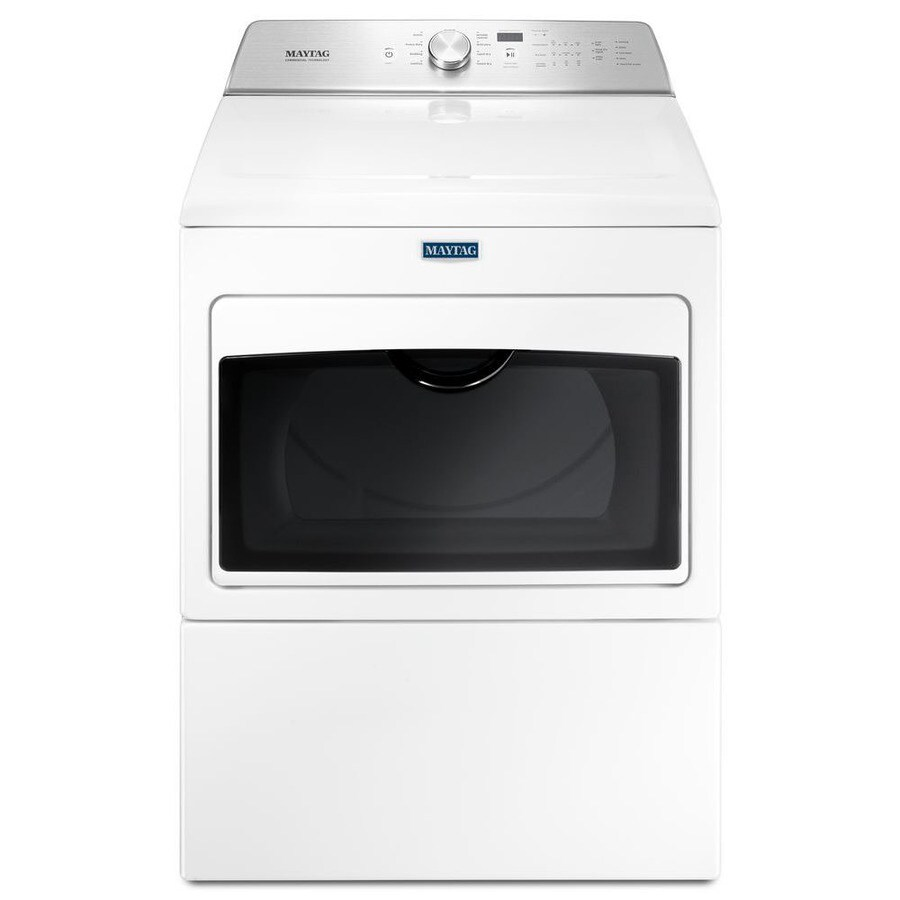 medium resolution of maytag 7 4 cu ft electric dryer white