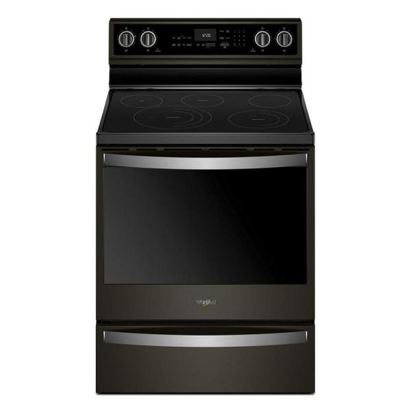 Whirlpool Electric Range Freestanding Smooth Surface