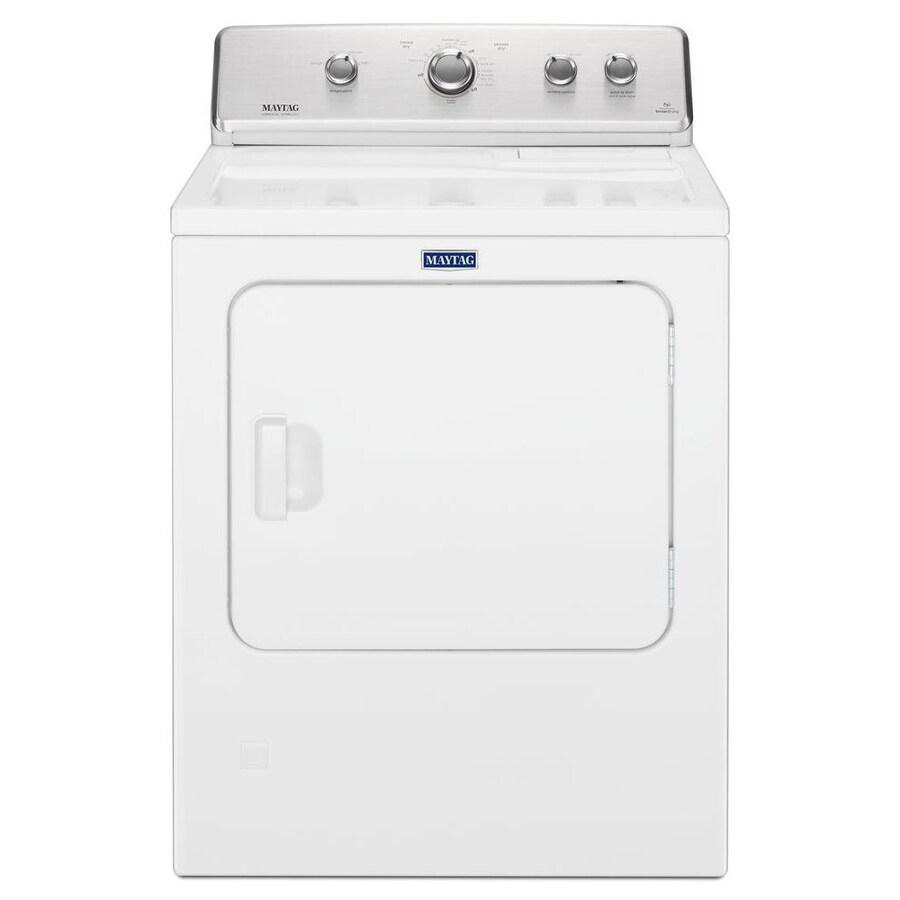 medium resolution of maytag 7 cu ft electric dryer white