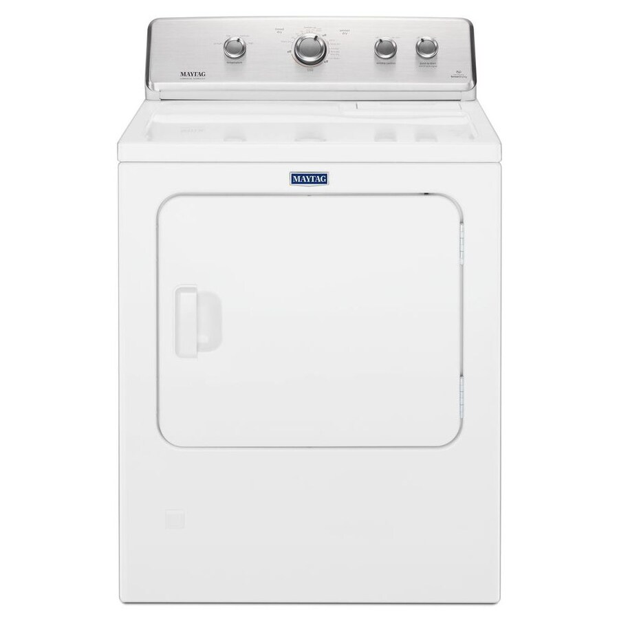 hight resolution of maytag 7 cu ft electric dryer white