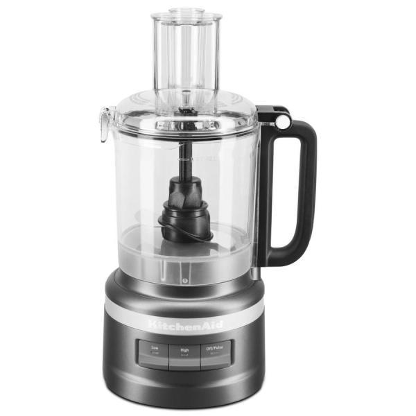 Kitchenaid 9-cup 240-watt Black Matte 1-blade Food Processor