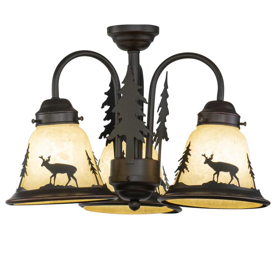 cascadia bryce 3 light burnished bronze rustic chandelier