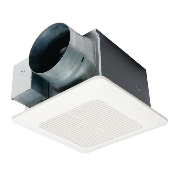 Panasonic Whisperceiling 0.3-sone 150-cfm White Bathroom