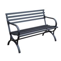Shop Garden Treasures 23.15-in W x 49-in L Patio Bench at ...