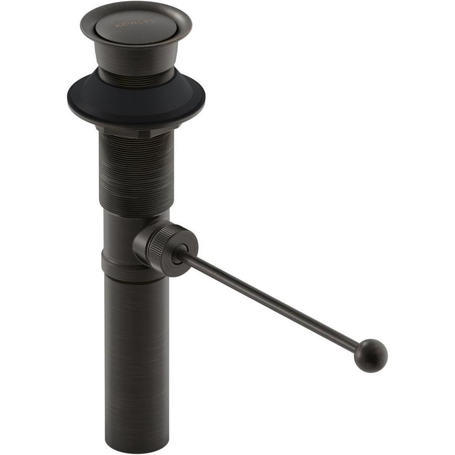 kohler bronze bathroom sink pop up drain