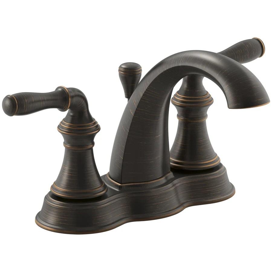 KOHLER Devonshire OilRubbed Bronze 2handle 4in