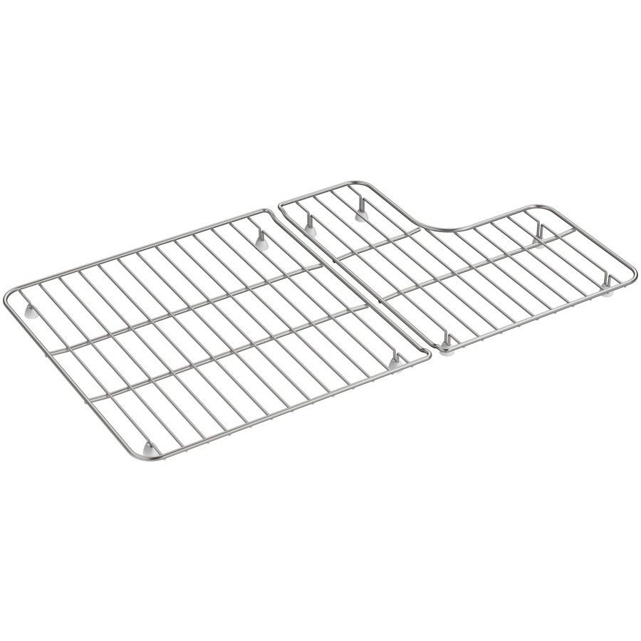 Shop KOHLER Whitehaven 15.06-in x 14.94-in Sink Grid at