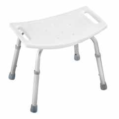 Handicap Shower Chair Traditional Accent Chairs Seats At Lowes Com Delta White Plastic Freestanding Seat