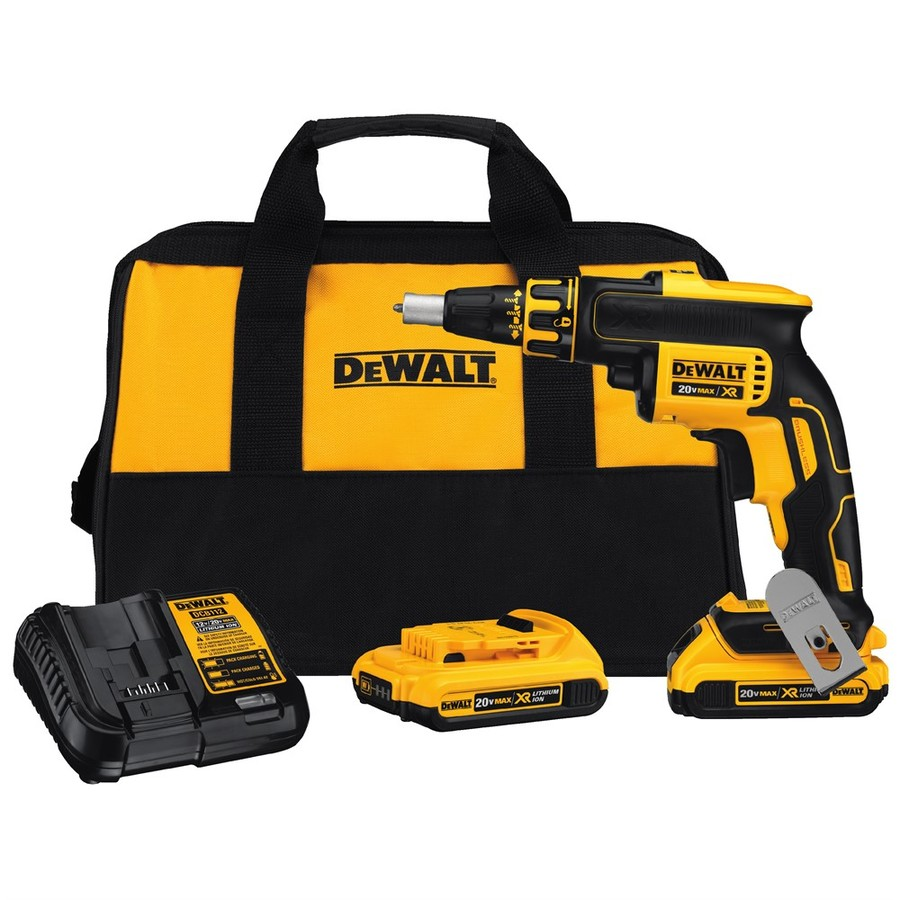 medium resolution of dewalt xr 20 volt max lithium ion brushless screw gun kit