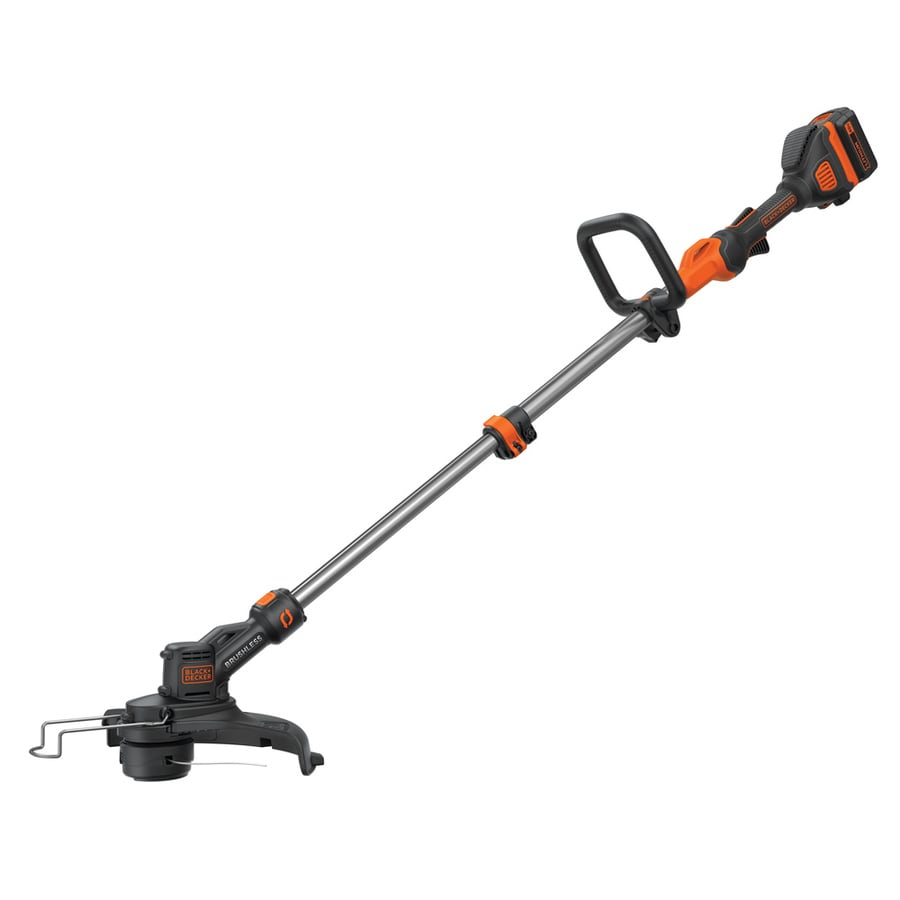 BLACK+DECKER 40-volt Max 13-in Straight Cordless String