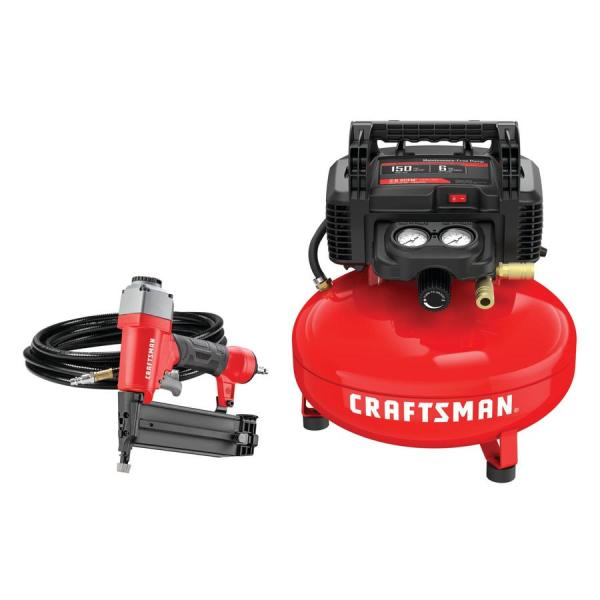 Craftsman 6-gallon Electric Pancake Air Compressor 1-tool