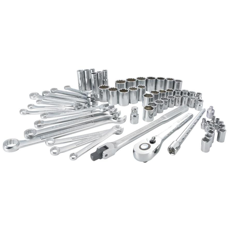 CRAFTSMAN 66-Piece Standard (SAE) And Metric Polished
