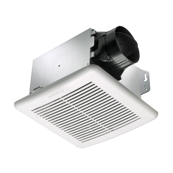 Delta Breez Greenbuilder 0.8-sone 80-cfm White Bathroom Fan Energy Star
