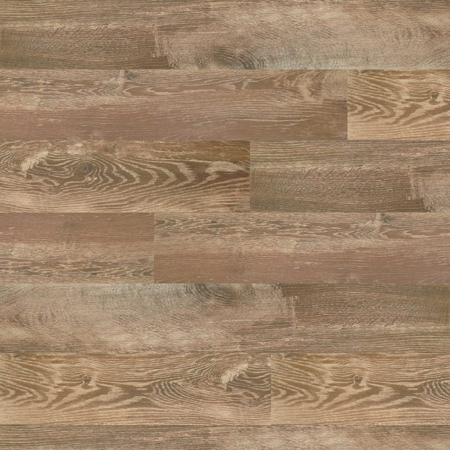 style selections natural timber cinnamon wood look porcelain floor and wall tile common 8 in x 48 in actual 7 72 in x 47 4 in