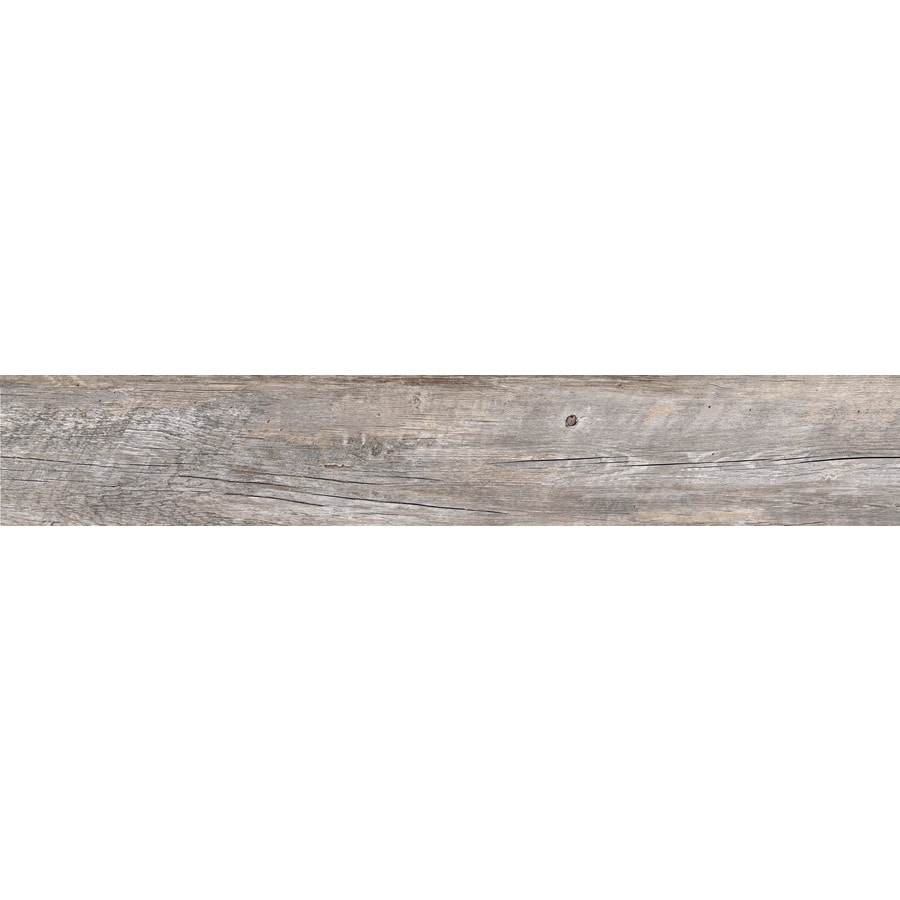 style selections natural timber ash 8 in x 48 in glazed porcelain wood look floor and wall tile