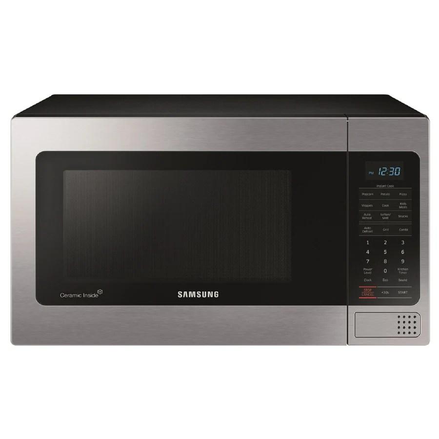 Shop Samsung 11cu ft 1000Watt Countertop Microwave
