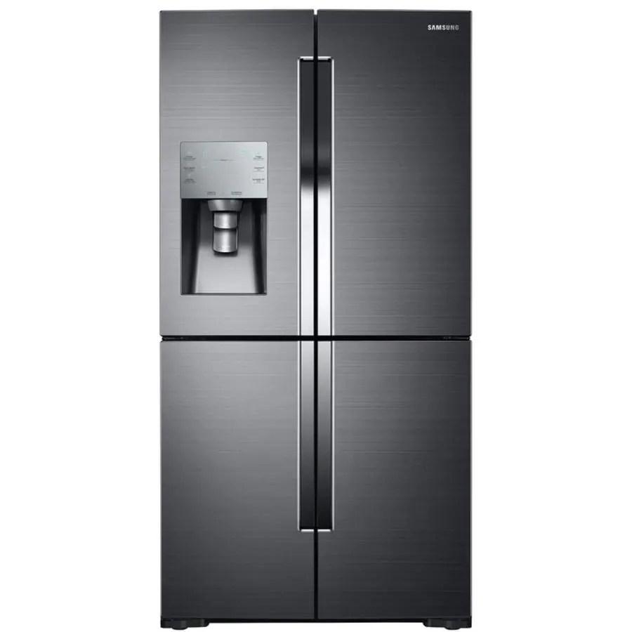 4 piece stainless steel kitchen package best stores shop samsung 4-door flex 28.1-cu ft french door ...