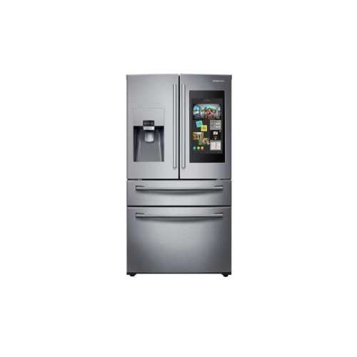 small resolution of samsung family hub family hub 27 7 cu ft 4 door french door refrigerator with ice maker stainless steel stainless steel energy star