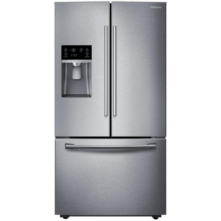 medium resolution of samsung 28 07 cu ft french door refrigerator with dual ice maker stainless steel