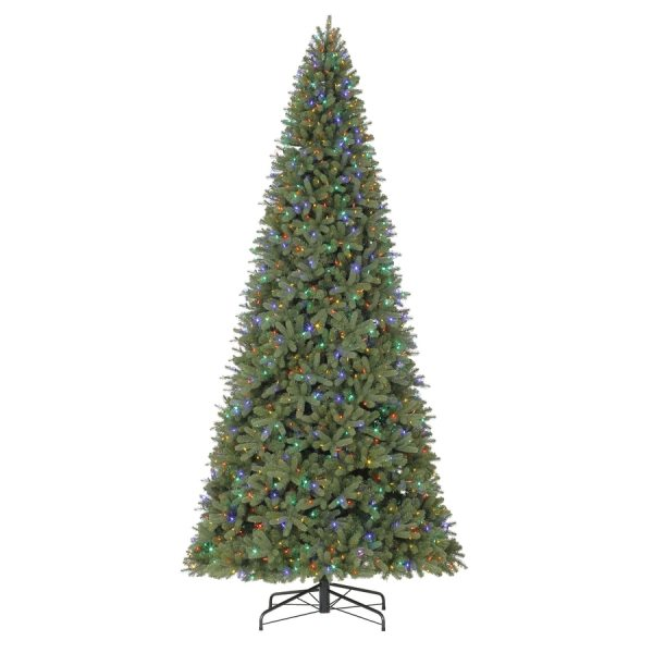 Holiday Living 12-ft Pre-lit Douglas Fir Artificial Christmas Tree With Color Changing Led