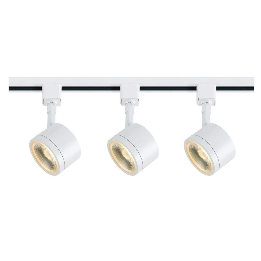 white linear track lighting kits at