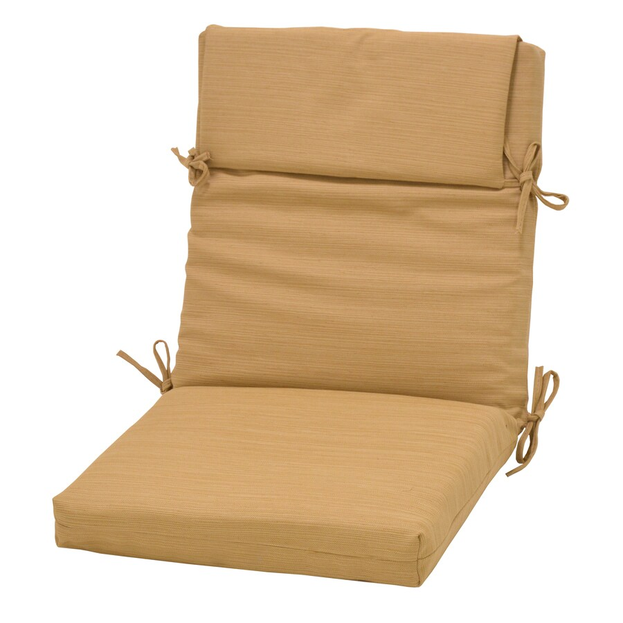 roth wheat patio chair cushion in the