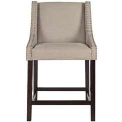 Low Back Lawn Chair 9 X Rocker Gaming Parts Bar Stools At Lowes Com Safavieh Dylan Taupe Counter Stool