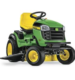 john deere e170 25 hp v twin side by side hydrostatic 48 in riding lawn mower with mulching capability kit sold separately  [ 900 x 900 Pixel ]