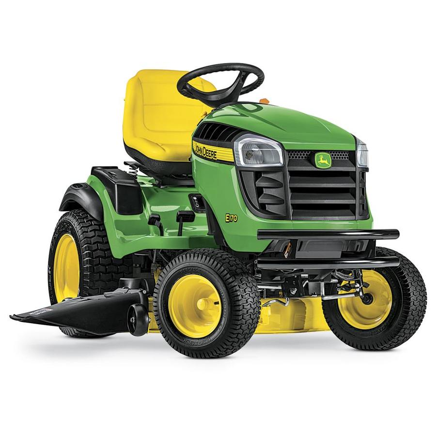 medium resolution of john deere e170 25 hp v twin side by side hydrostatic 48 in riding lawn mower with mulching capability kit sold separately