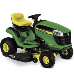 john deere d105 17 5 hp automatic 42 in riding lawn mower mulching capable [ 900 x 900 Pixel ]