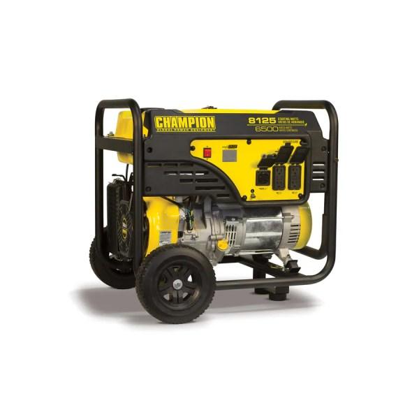 Champion Power Equipment 6500-running-watt Portable Generator With Engine