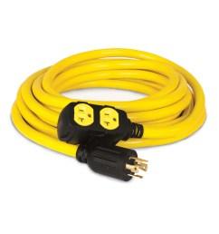 champion power equipment generator cord nema l14 30p to 4 5 [ 900 x 900 Pixel ]