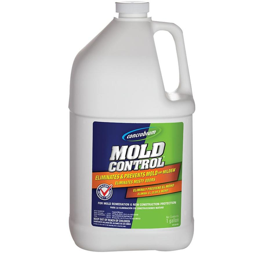 Shop Concrobium 128oz Liquid Mold Remover At Lowescom