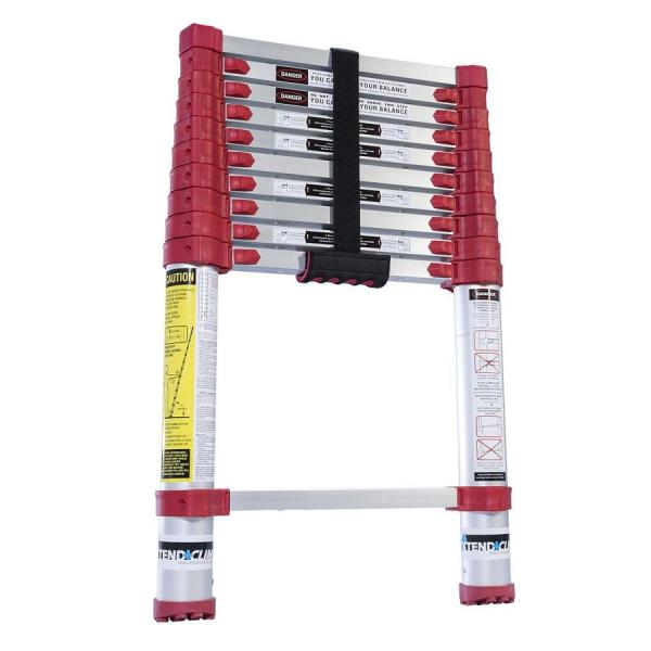 Xtend & Climb 10-1 2-ft Aluminum 225-lb Telescoping Type Ii Extension Ladder