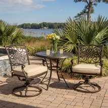 Hanover Outdoor Furniture Traditions 3-piece Bronze
