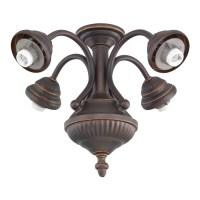 Shop Monte Carlo Fan Company 4-Light Roman Bronze ...