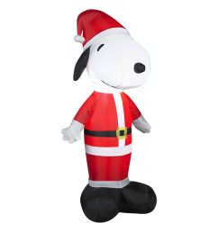 gemmy 3 51 ft internal light snoopy christmas inflatable [ 900 x 900 Pixel ]