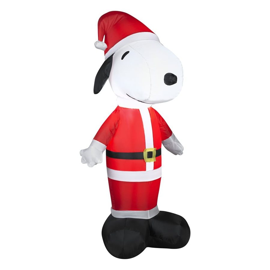 hight resolution of gemmy 3 51 ft internal light snoopy christmas inflatable