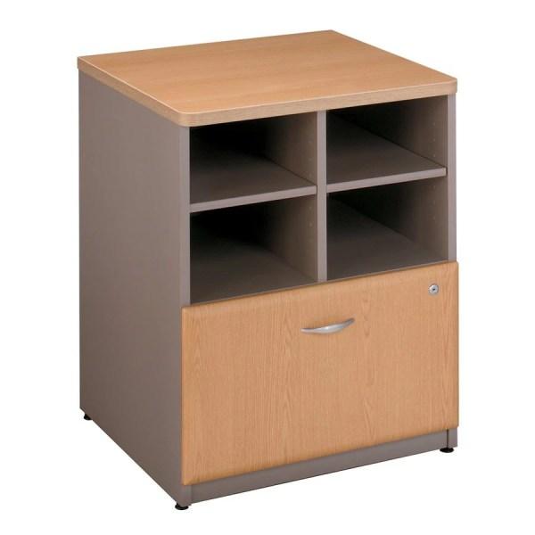 Bush Furniture Storage Cabinet Oak