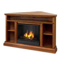 Kitchen Stoves At Lowes Air Vent For Sink Shop Real Flame 50.75-in Gel Fuel Fireplace Lowes.com