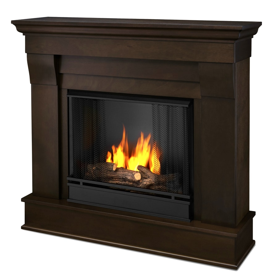 lowes kitchen stoves table with bench seating and chairs shop real flame 40.9-in gel fuel fireplace at lowes.com
